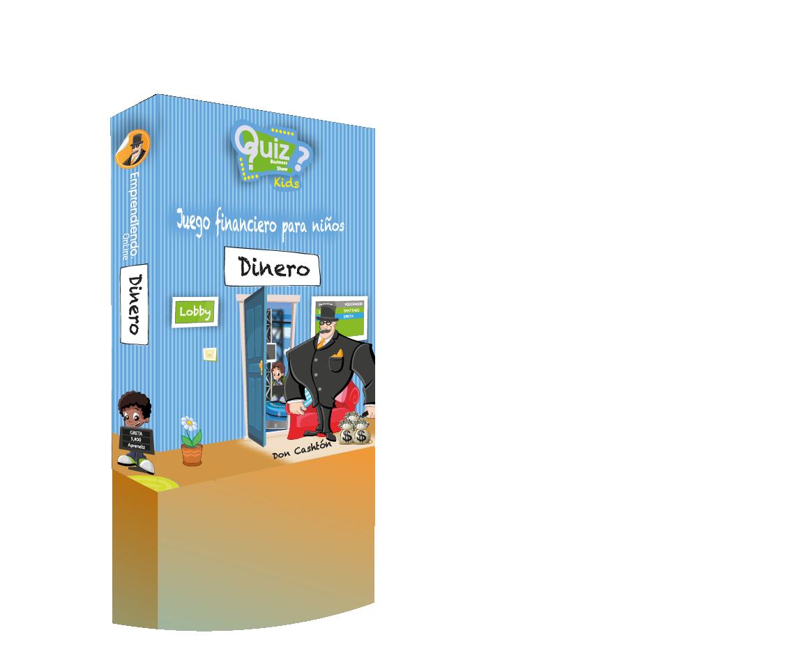 Quiz Business Show Kids -Dinero-