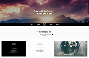 Diseño Web Change the mind startuplasma