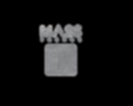 logotipo mass trends gris con textura bl