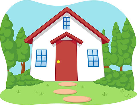 cartoon-of-cute-little-house-with-garden
