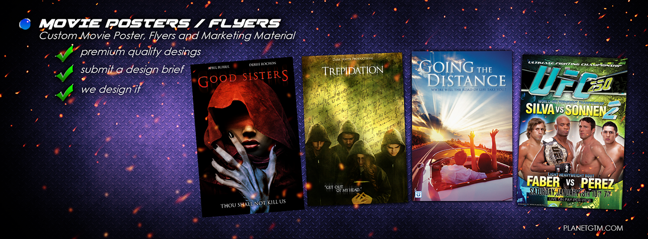 Movie Posters / Flyers / Marketing Material