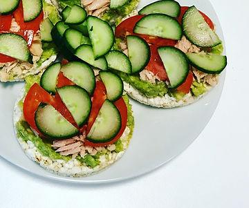 Rice Cakes with Tuna and Salad.jpg
