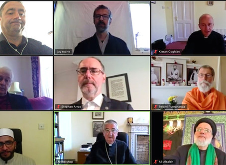 Religious leaders unite in prayer for end to Covid-19 crisis
