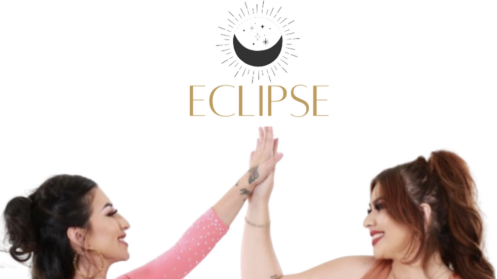"""""""Eclipse""""  by Marilyn Odessa and Beatriz Solís"""
