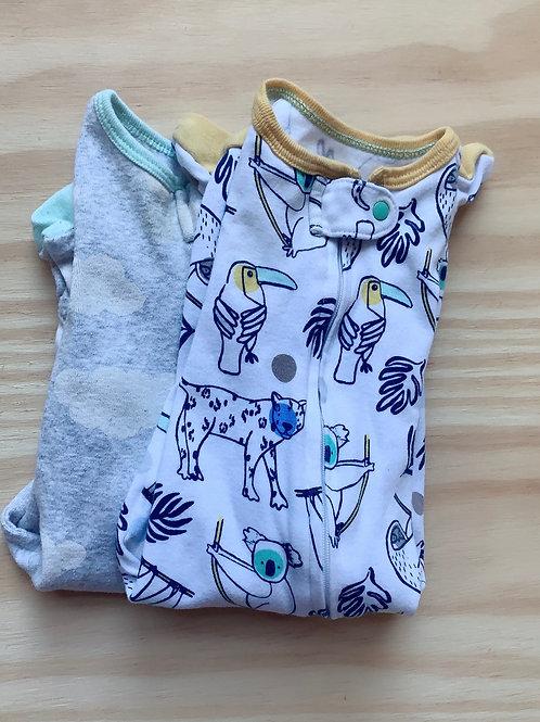 Cloud Island onesie- set of 2