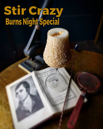 34. BURNS NIGHT WHISKY SPECIAL TASTING & COCKTAIL MASTERCLASS