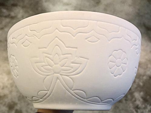 Floral Cereal Bowl Take Home Kit