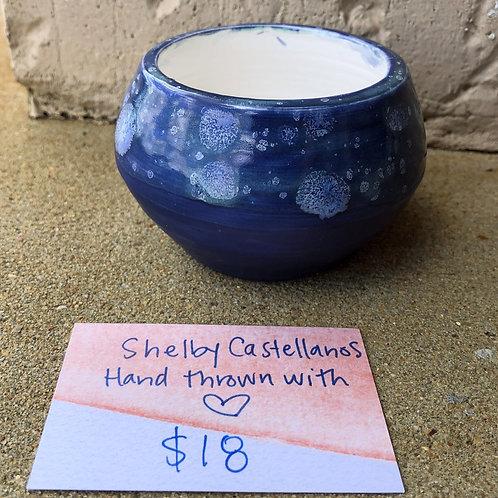 Hand-Thrown Pot - Aster