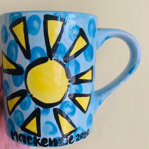 Guided Take Home Kit -Fingerprint Mug