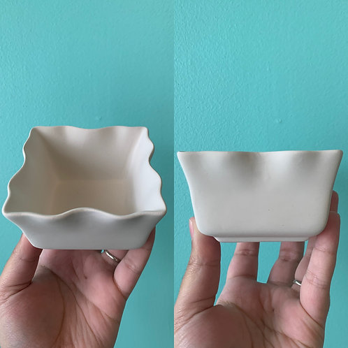 Two Wavy Trinket Bowls Take Home Kit