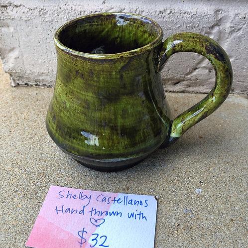 Hand-Thrown Mug - Fern