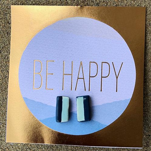 Handmade Clay Earrings - Abby
