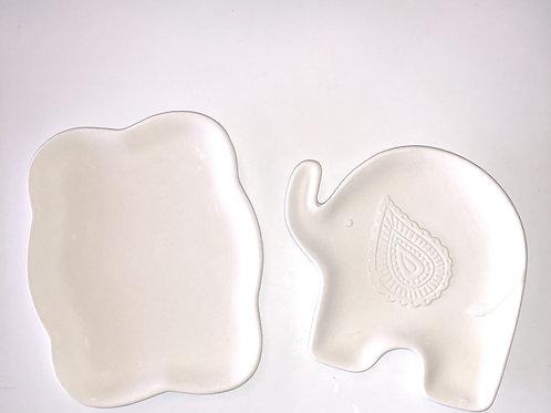 Bubble & Elephant Dish Set Take Home Kit