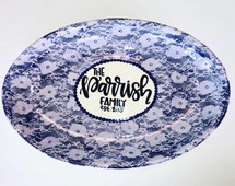 Lace Family Platter