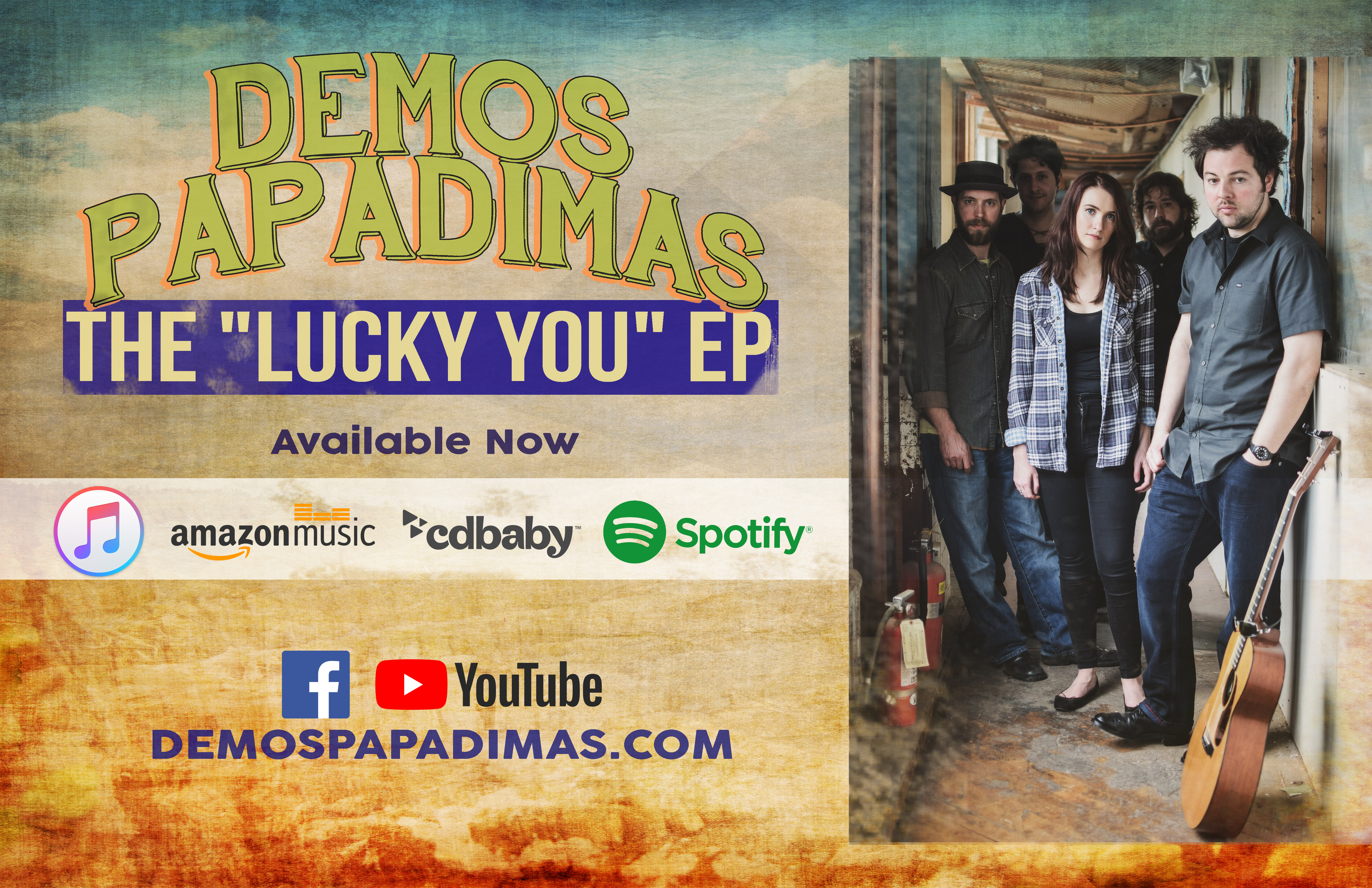demos EP AVAILABLE NOW