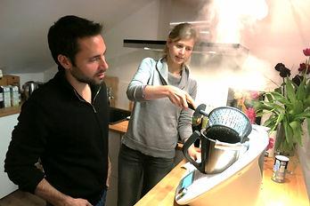 Atelier cuisine à domicile