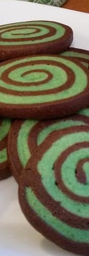 Chocolate Mint Swirls