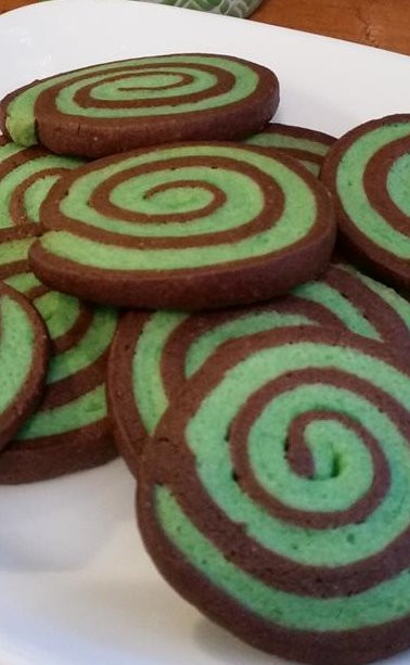 Chocolate Mint Swirls