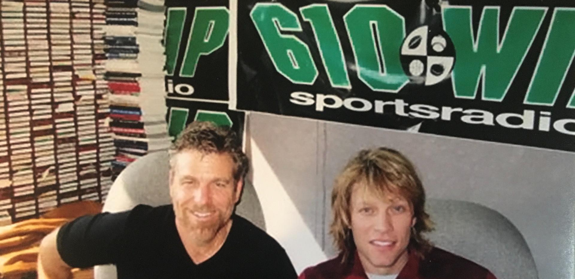 Howard and Jon Bon Jovi