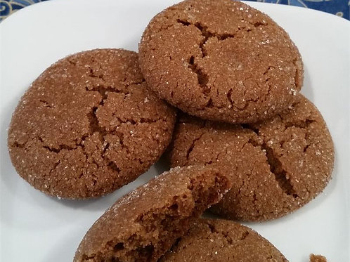 Southern Molasses Cookies
