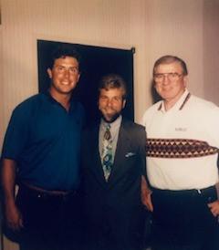 Dan Marino and Chuck Bednarik