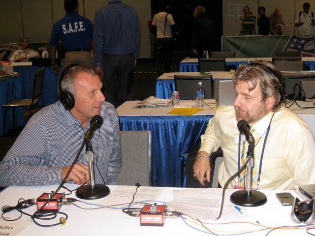 Howard and Joe Montana