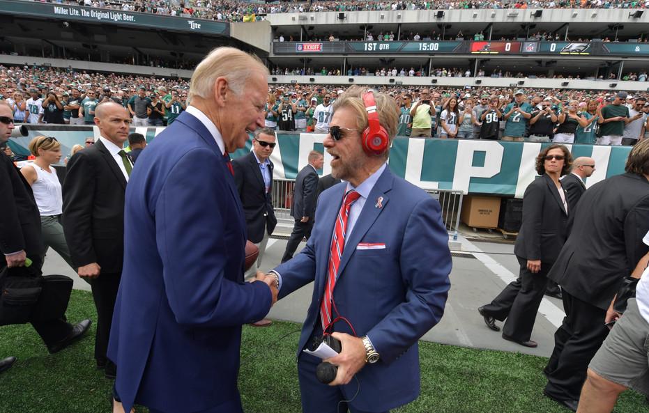 Howard and President-elect Joe Biden