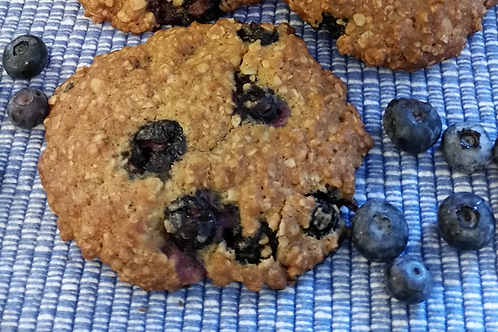 Blueberry Lemon Oatmeal Cookie