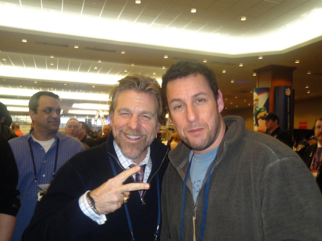 Howard and Adam Sandler