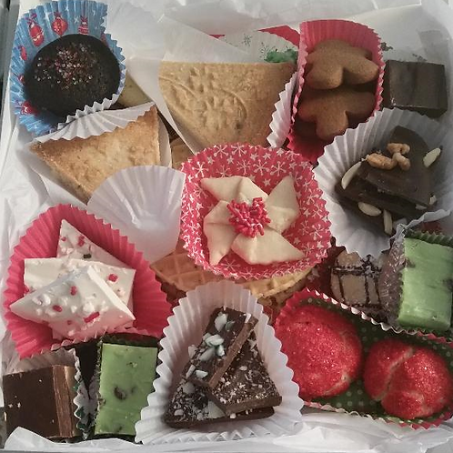 Assorted Holiday Cookie Boxes