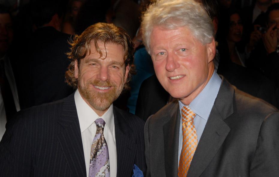 Howard and President Clinton
