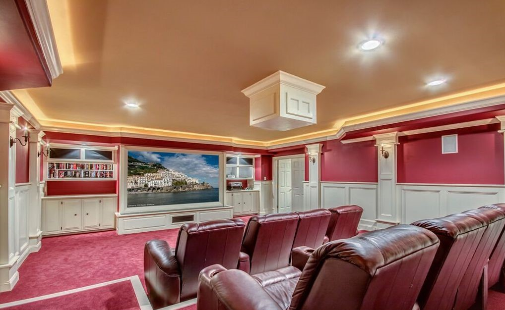 Christaldi Builders Home Theater
