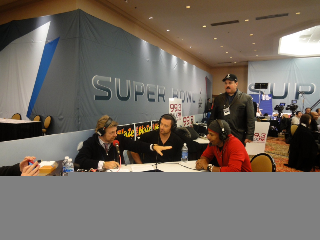 Howard, Hugh Jackman and Sugar Ray Leonard