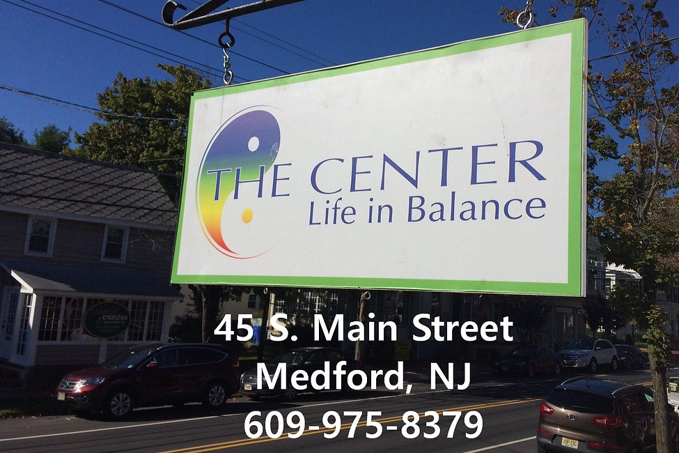 The Center, Life in Balance in Medford, NJ