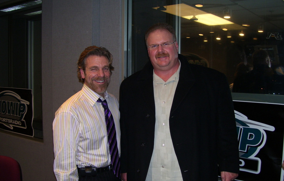 Howard and Andy Reid