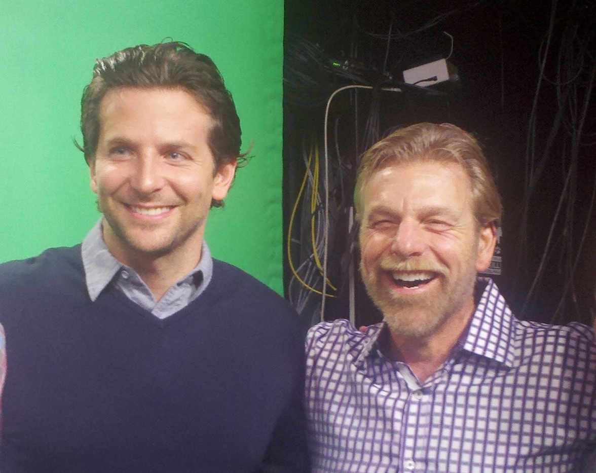 Howard and Bradley Cooper