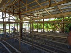 Block drying area