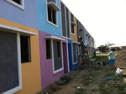 Rebuilding after cyclone devastation