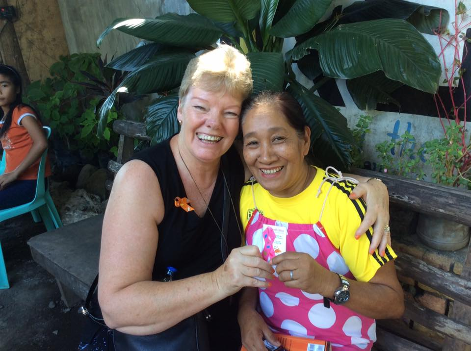Philippine foster mum