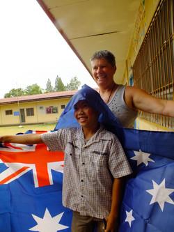 Thanks Australian volunteers
