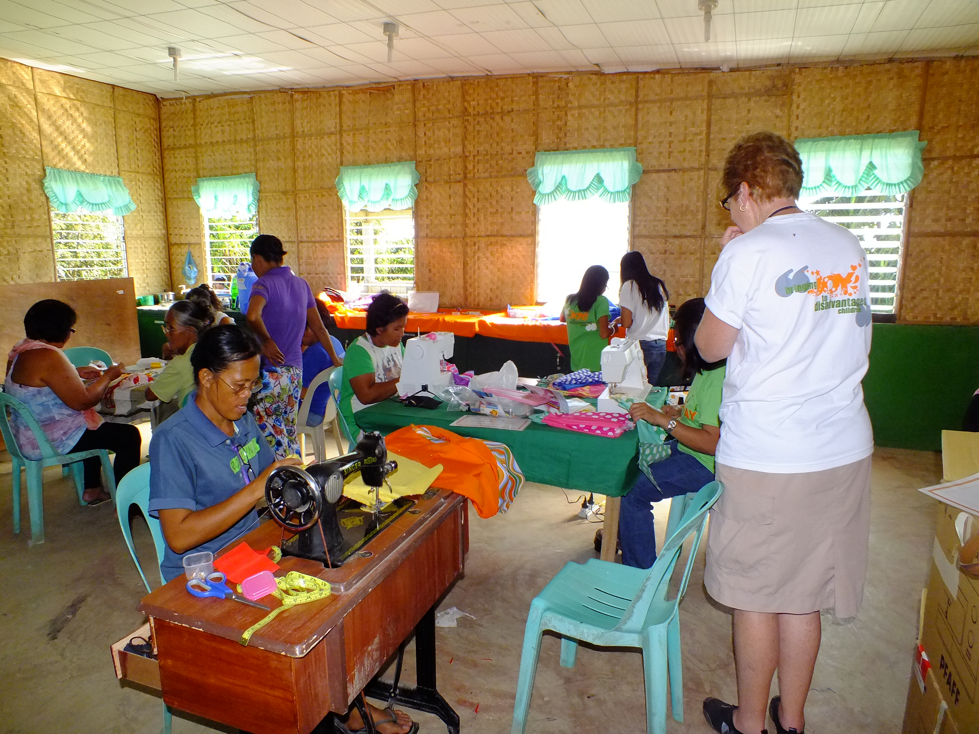 Community Sewing in full swing
