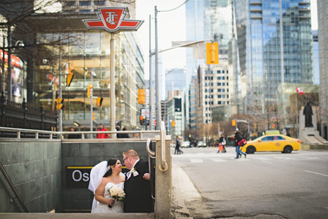 Wedding in the city