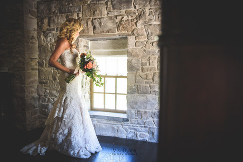 Bride at the Ancaster Mill