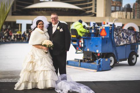 Wedding at Toronto City Hall