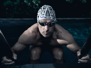 Portrait of a Masters' swimmer