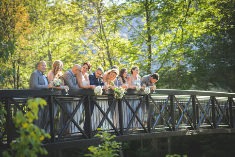 Wedding party Wedding at the Ancaster Mill