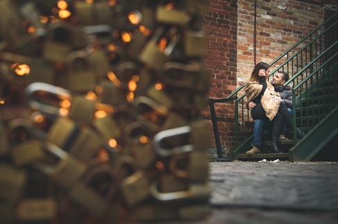JP & Katherine - distillery engagement 2
