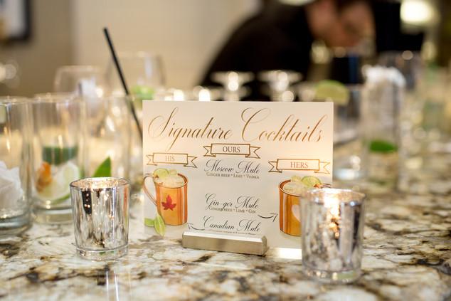 Tina & Bryce Wedding - signature drink.j