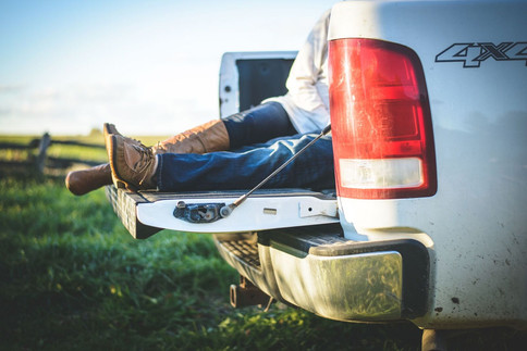 Engagement - lying in a truck.jpg