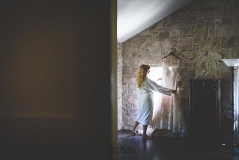 Bride at Ancaster Mill